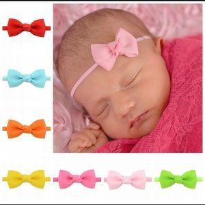 Baby small bow headbands